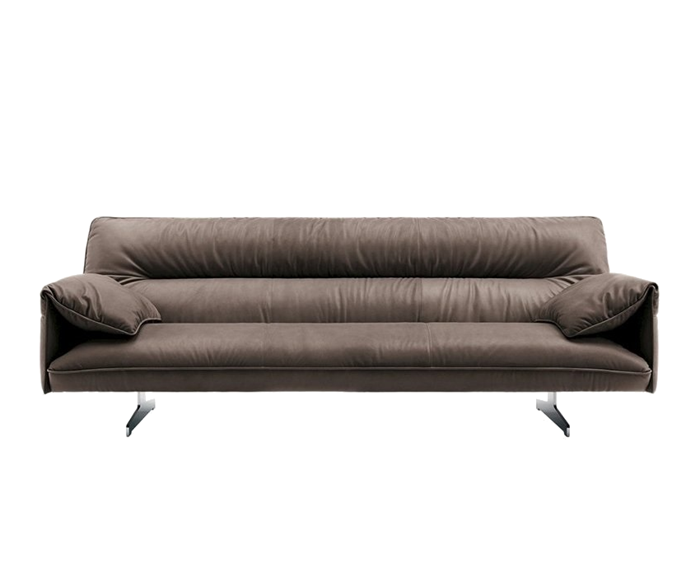 Scopri la collezione divani di Poltrona Frau - Il marchio italiano per eccellenza dell'arredaento d'interni. Divano in pelle Antohn