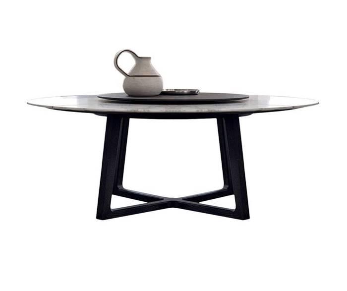 CONCORDE poliform Marble Dining Table ポリフォーム コンコルド 大理石 ダイニング テーブル