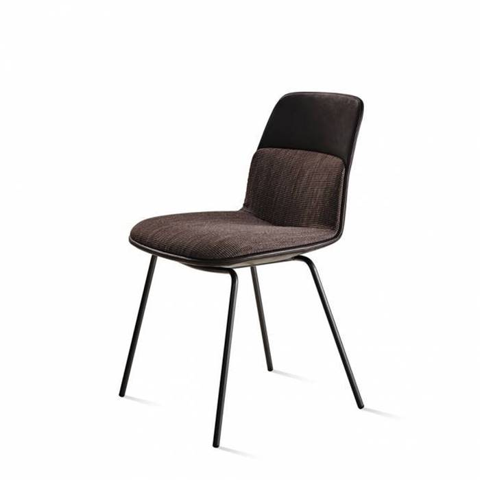 BARBICAN CHAIR LEATHER SEAT の画像
