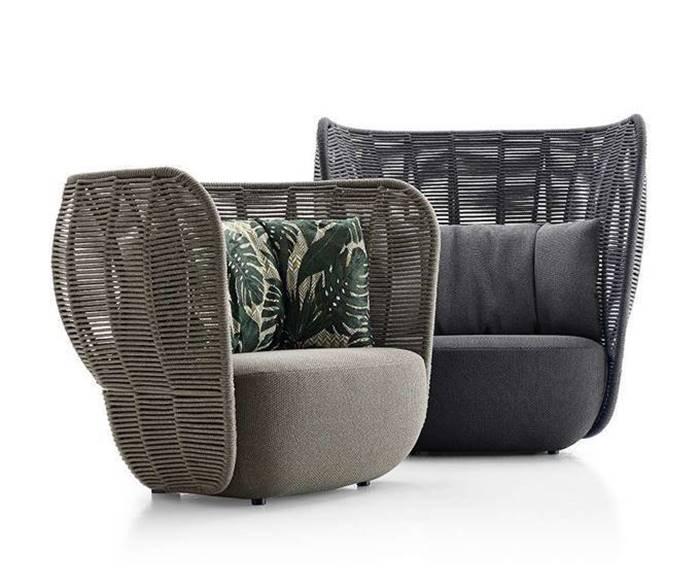 B&Bイタリア ベイ アームチェア アウトドア チェア B&B Italia Bay Armchair Outdoor Chair