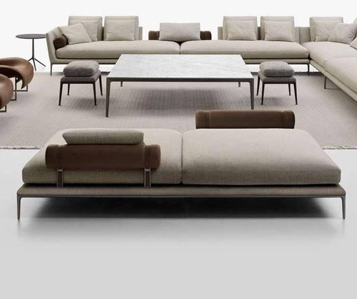 B&Bイタリア B&B アトゥール オットマン システムソファ B&B Italia B&B Atoll Ottoman System Sofa