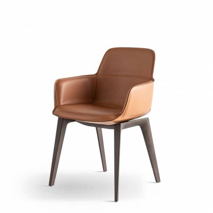 BARBICAN ARMCHAIR LEATHER SEAT の画像