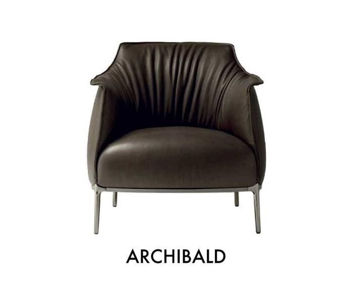 Poltrona Frau Archibald Armchair Lounge Chair ポルトローナ・フラウ アーチボルド アームチェア ラウンジチェア
